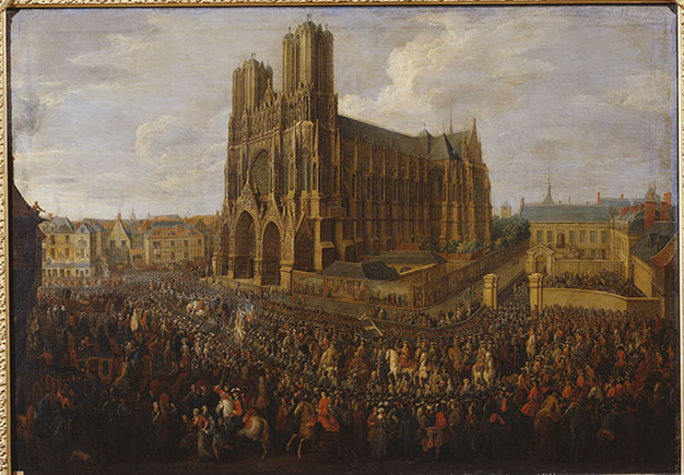 Sacre de Louis XV à Reims