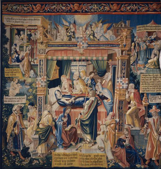 Tenture de la Vierge
