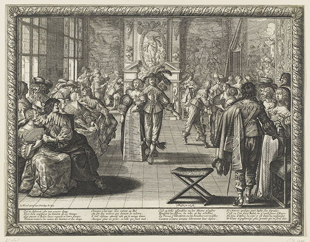 Un bal au XVIIe siècle