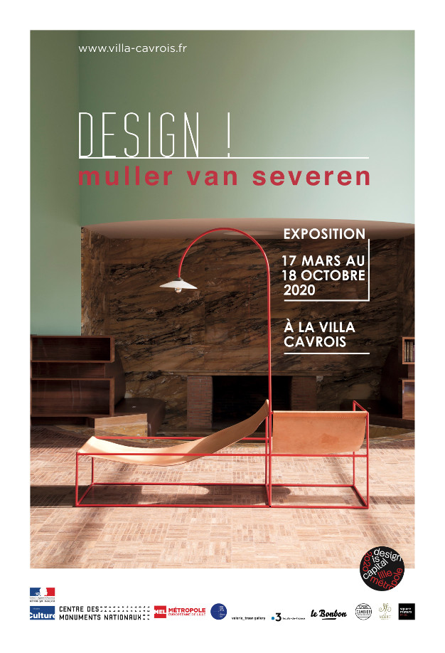 Affiche expo Design Muller van Saveren