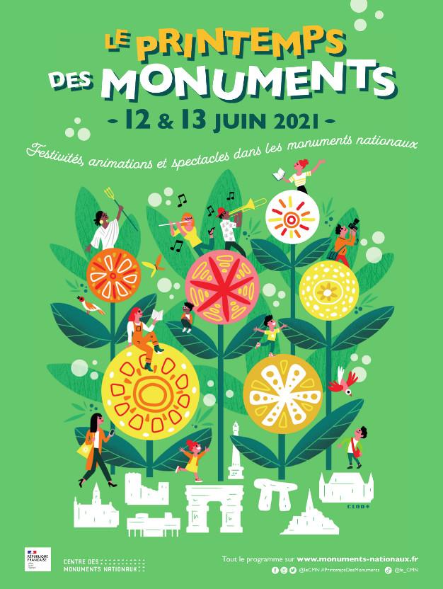 Affiche Printemps des Monuments