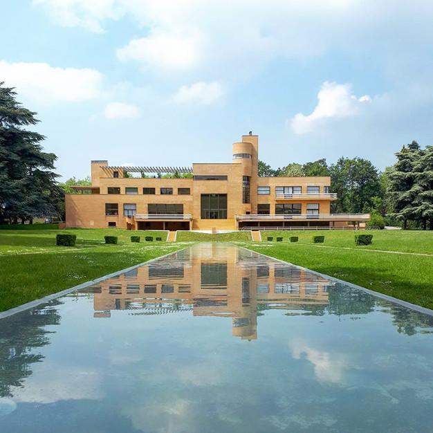 la Villa Cavrois et son miroir d'eau
