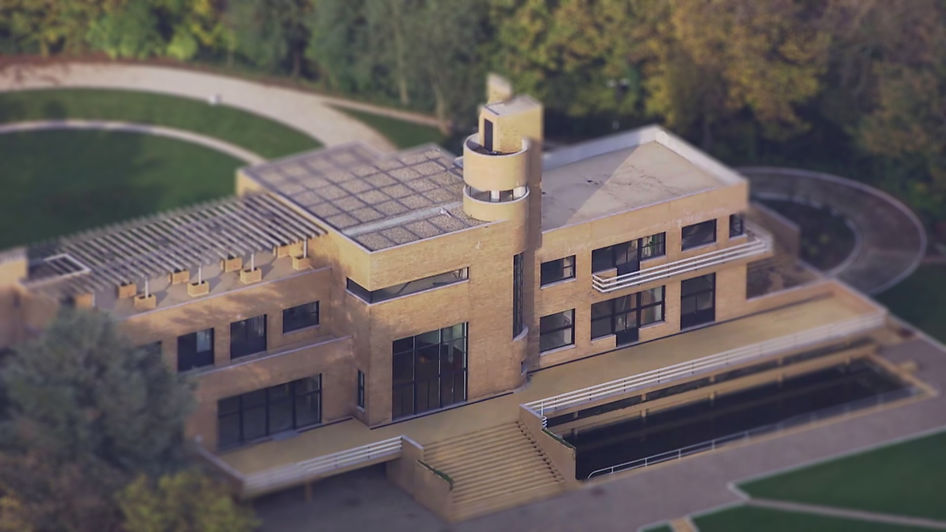 La villa Cavrois vue aérienne