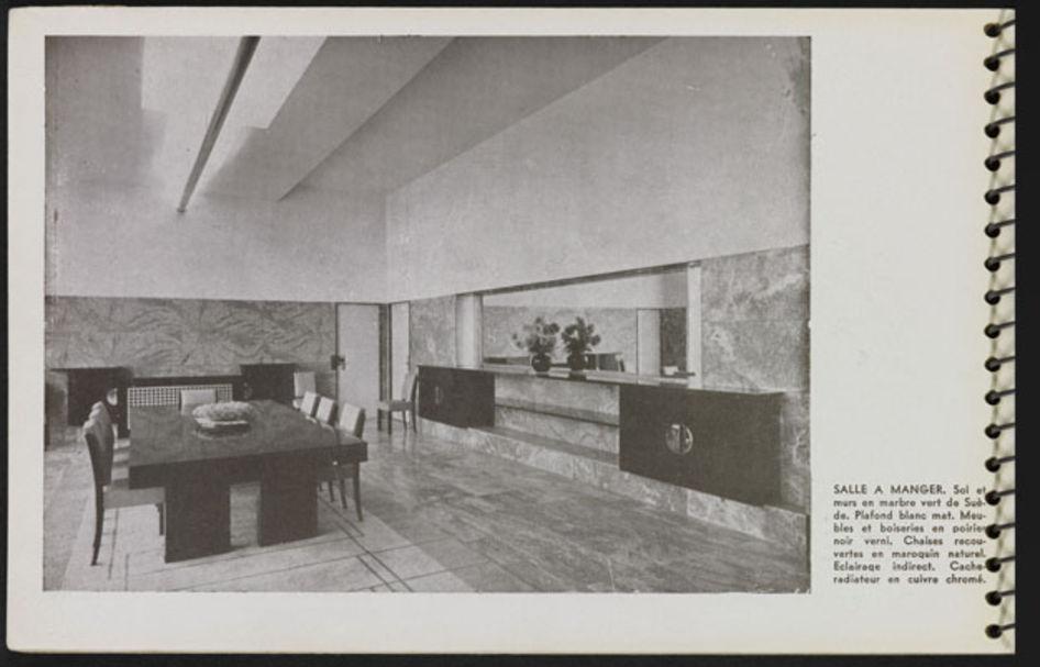 """Page 22 du """"Une Demeure 1934"""", Boulogne, Ed. de l'Architecture d'Aujourd'hui, 1934."""