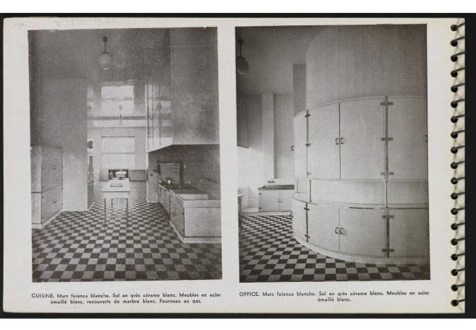 """Page 32 du """"Une Demeure 1934"""", Boulogne, Ed. de l'Architecture d'Aujourd'hui, 1934."""