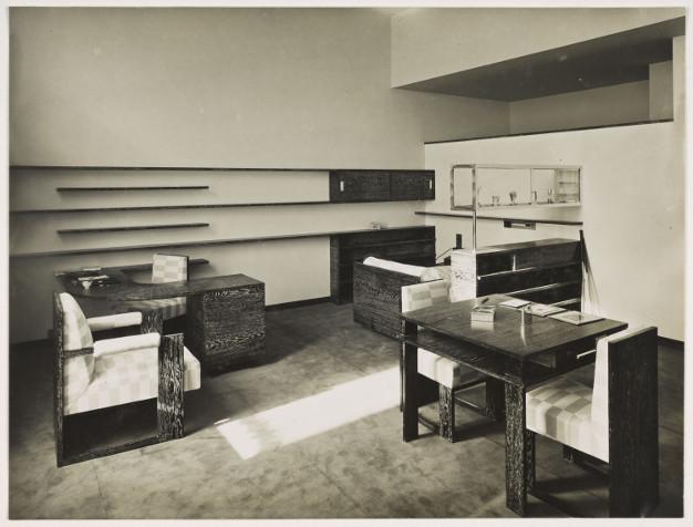 Photo de la chambre jaune en 1932