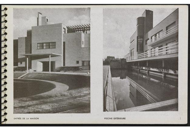 """Page 13 du """"Une Demeure 1934"""", Boulogne, Ed. de l'Architecture d'Aujourd'hui, 1934."""