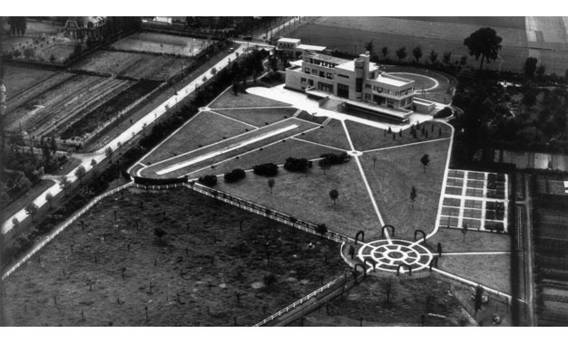 Vue aérienne 1930