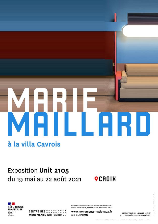 Visuel de l'exposition Unit 2105 à la villa Cavrois