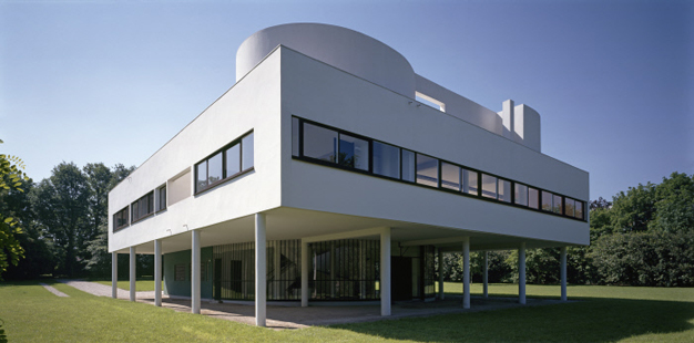 Inscription de la villa savoye sur la liste du patrimoine for Poissy le corbusier