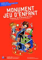 Affiche Monument Jeu d'Enfant 2019
