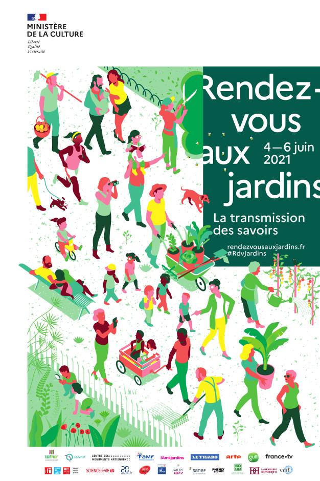Visuel RDV Jardins 2021
