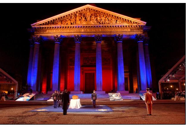Alexandre Dumas au Panthéon