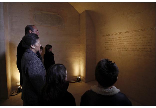 Cérémonie d'hommage aux Justes de France au Panthéon